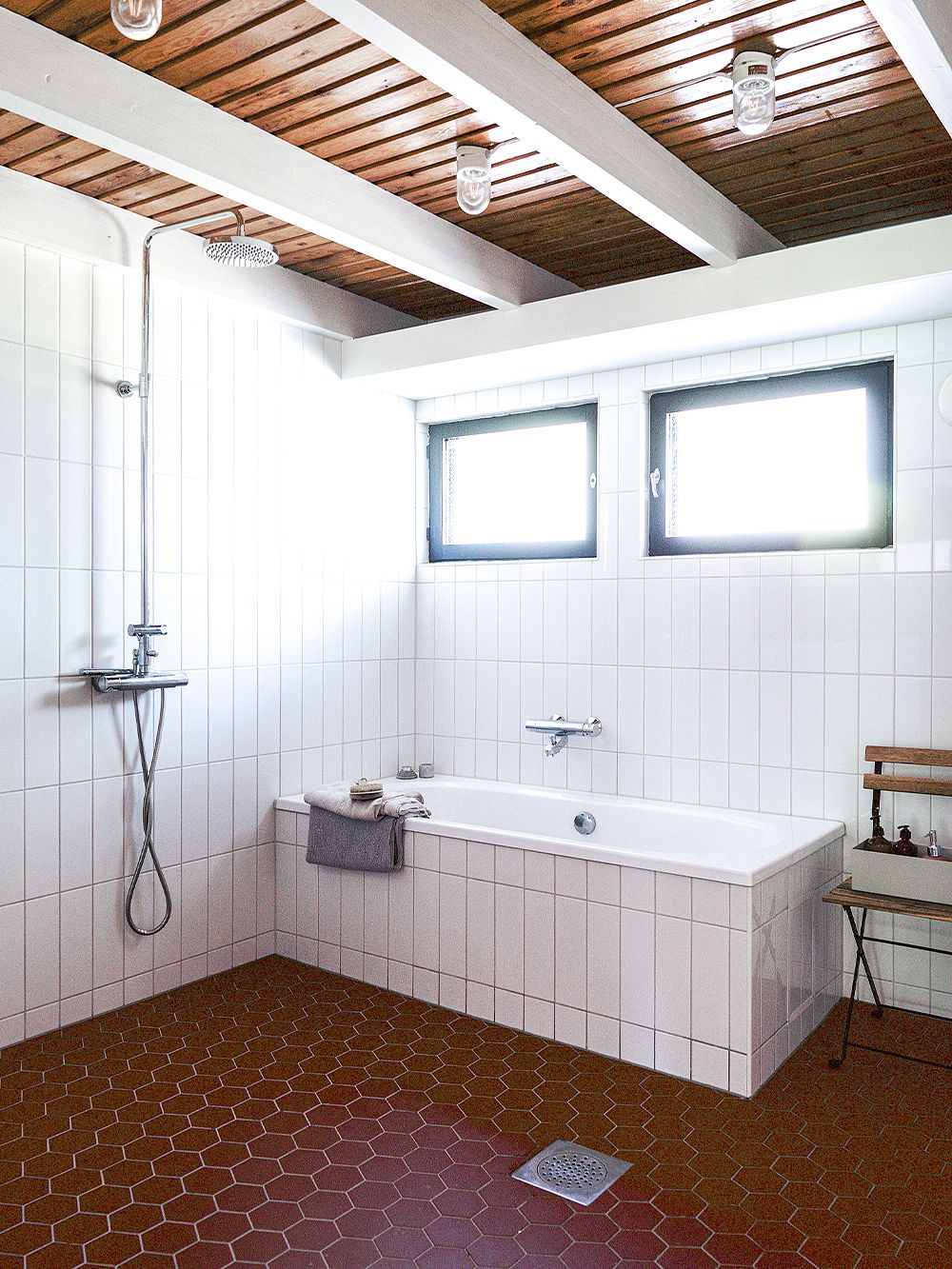 Bathroom   A family home in Oulu with a 15-year style guarantee