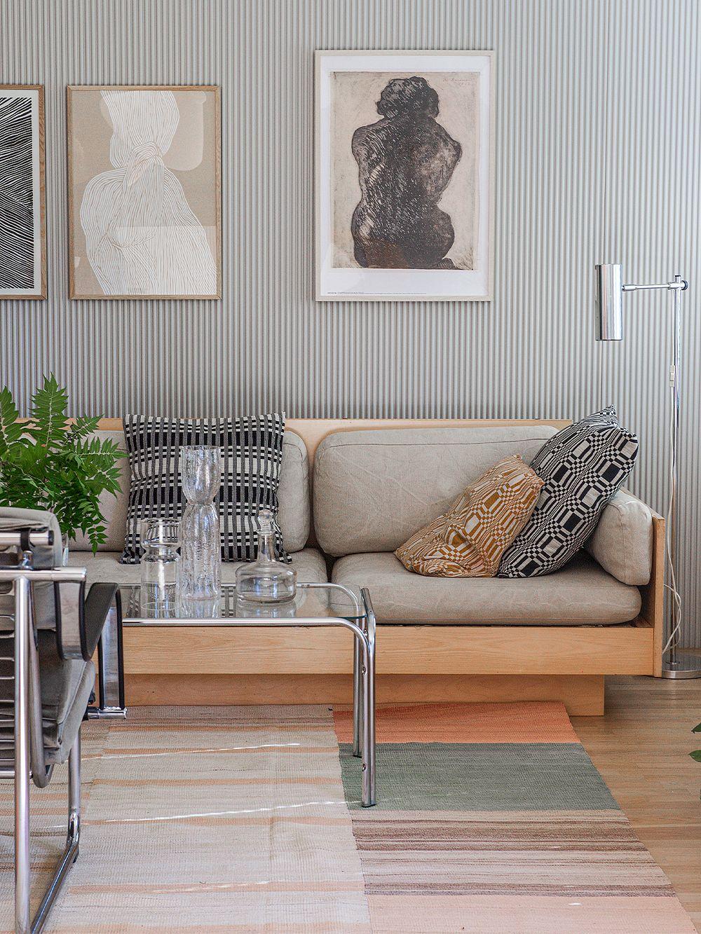 Johanna Gullichsen Doris and Nereus cushion covers