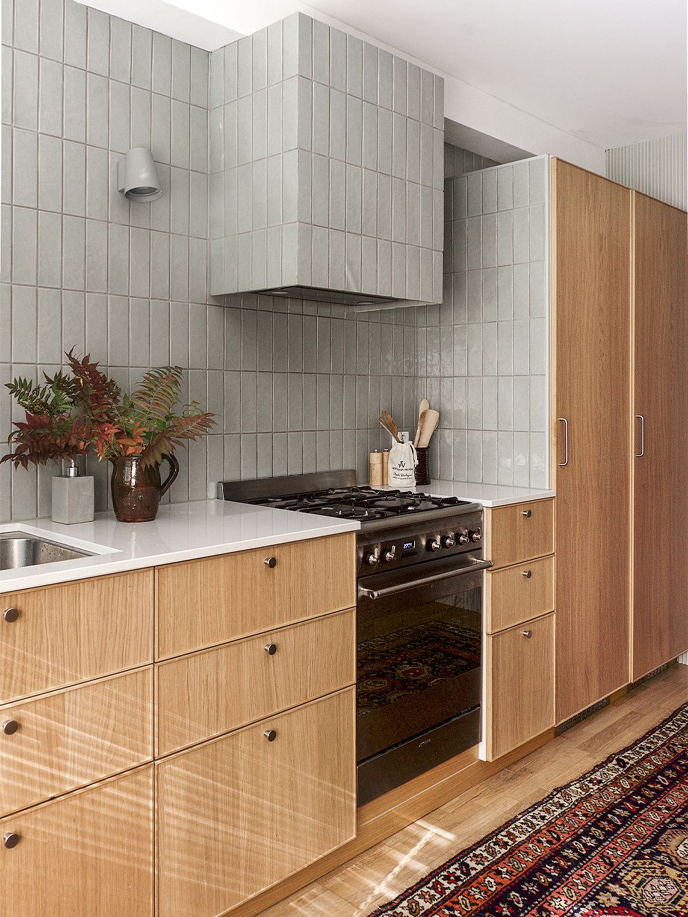 Kitchen   A family home in Oulu with a 15-year style guarantee