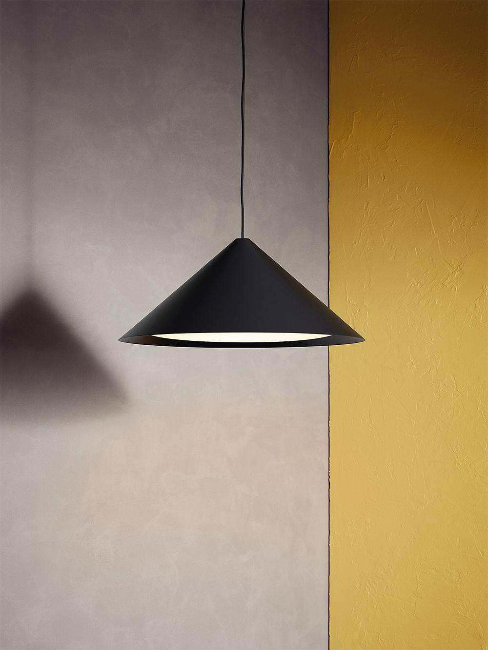 Louis Poulsen Keglen 650 pendant, black