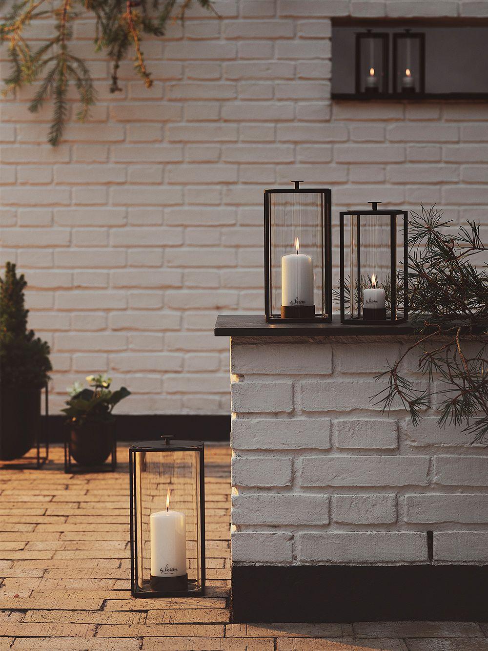 By Lassen Light'In lantern, small, black