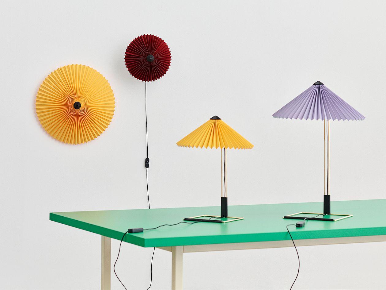 HAY Matin table lamp, large, yellow