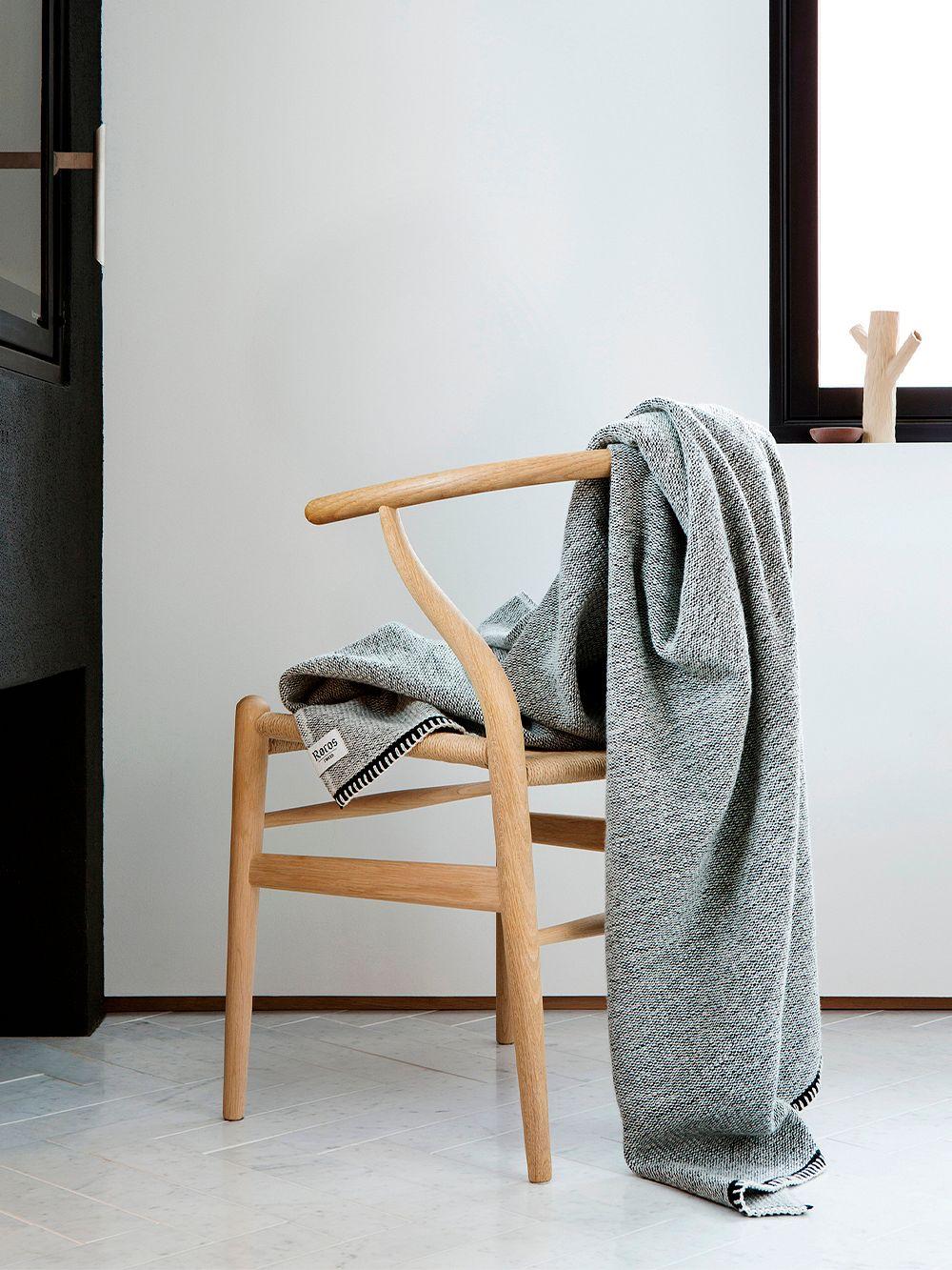 Røros Tweed Picnic throw 200 x 150 cm, natural