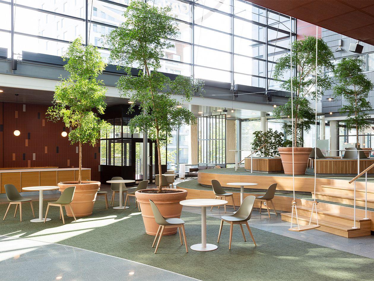Huudi remote workspace in Helsinki