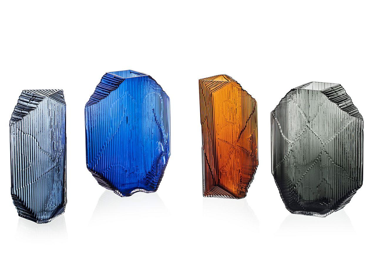 Kartta glass sculpture by Iittala