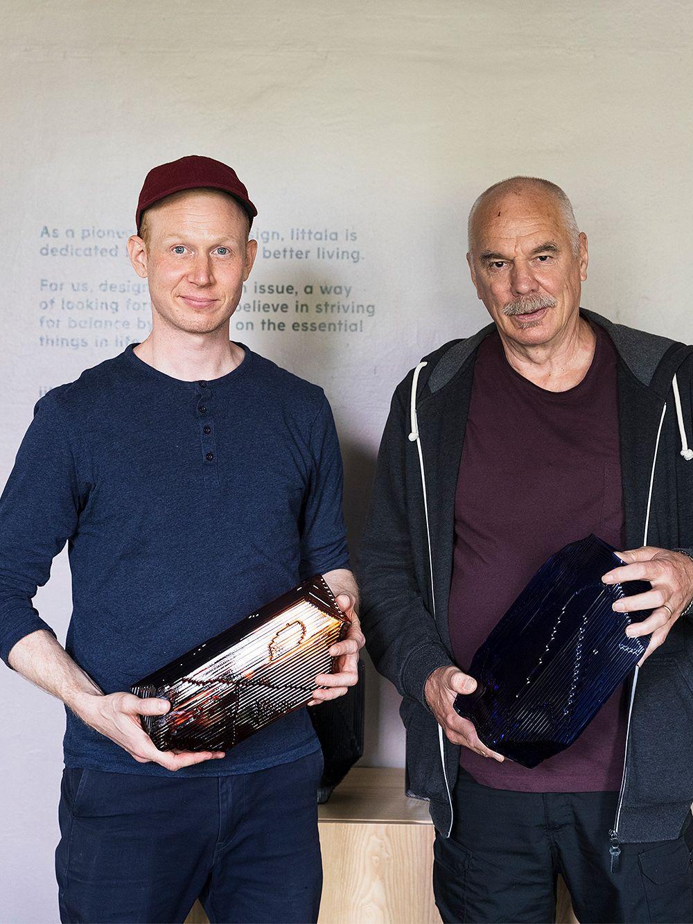 Santtu Mustonen and Heikki Punkari