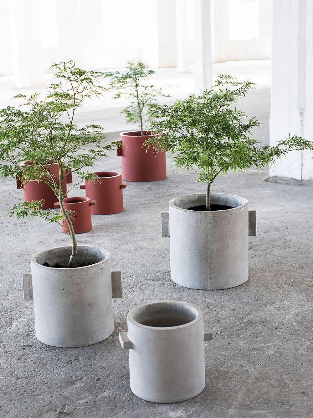 Serax Concrete plant pot 30 cm, grey