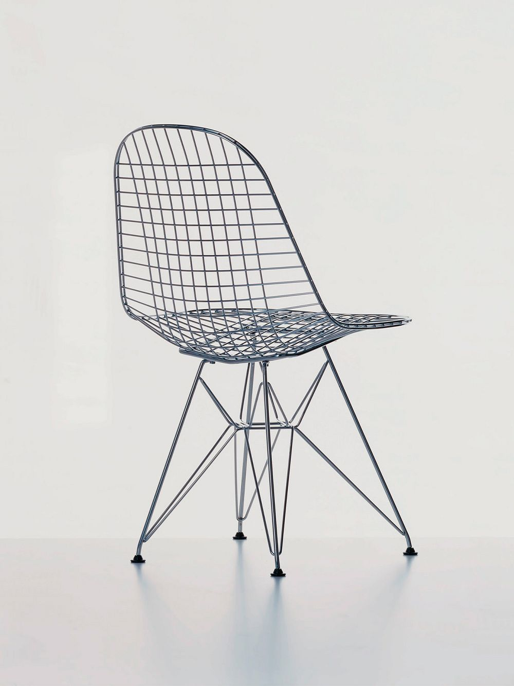 Vitra Wire Chair DKR, chrome
