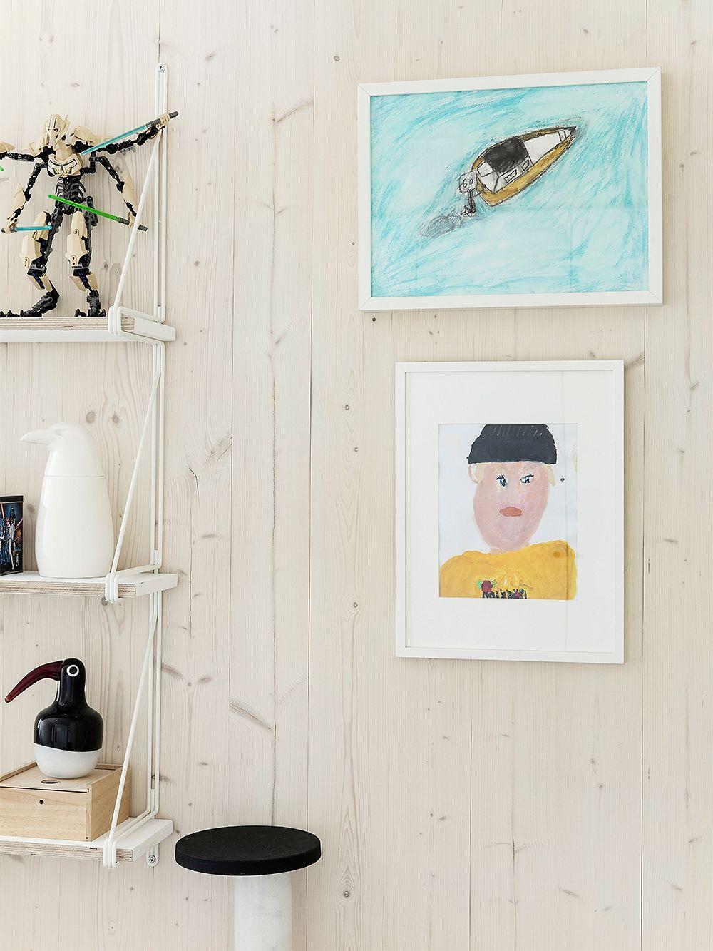 Iittala Birds by Penttinen Nightbird, black-white