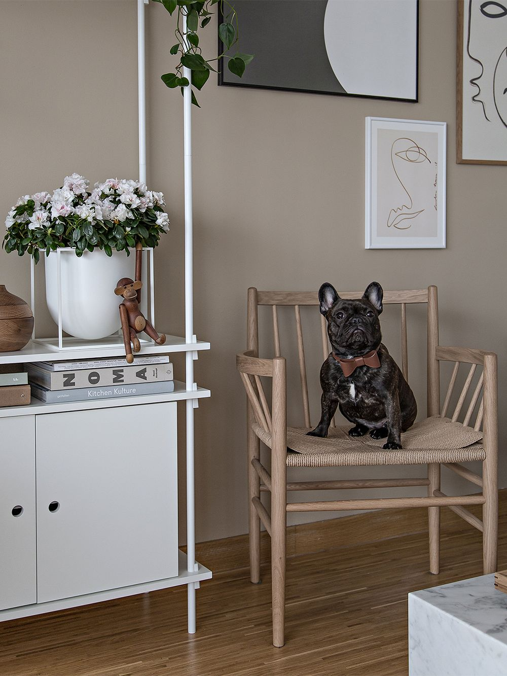 FDB Møbler J81 chair, oiled oak