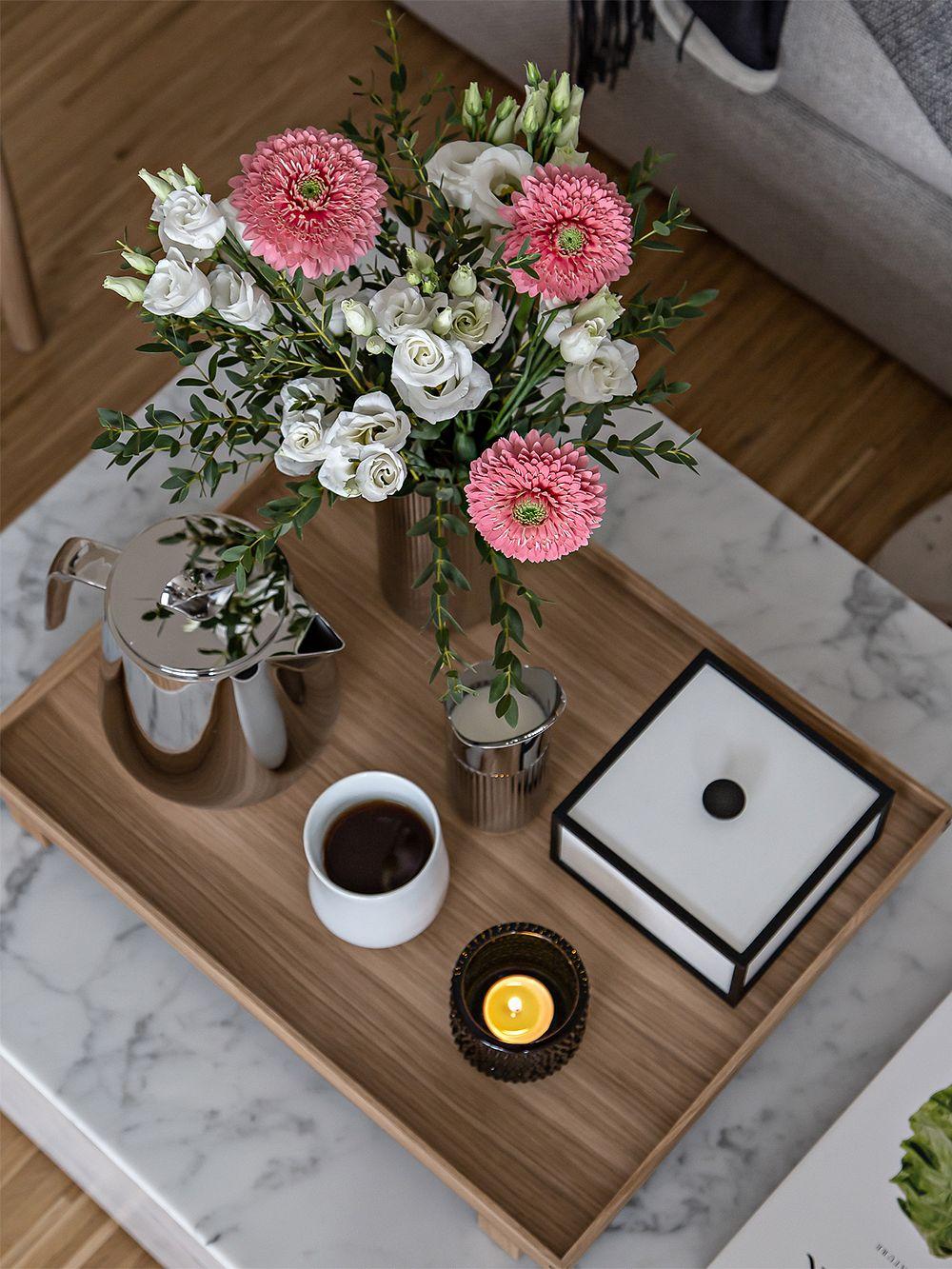 Ferm Living Bon tray, L, oak
