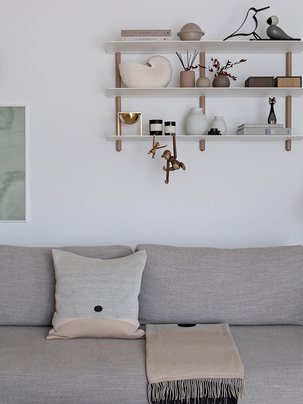 Form & Refine Aymara cushion, 52 x 52 cm, pattern Cream