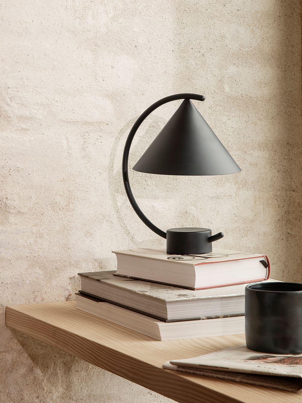 Ferm Living Meridian table lamp, black