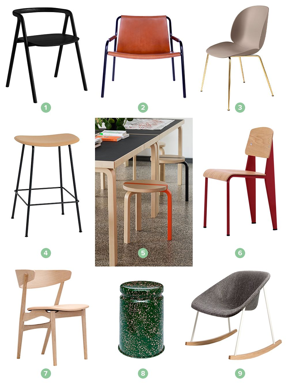 Chairs at Finnish Design Shop's Summer Sale