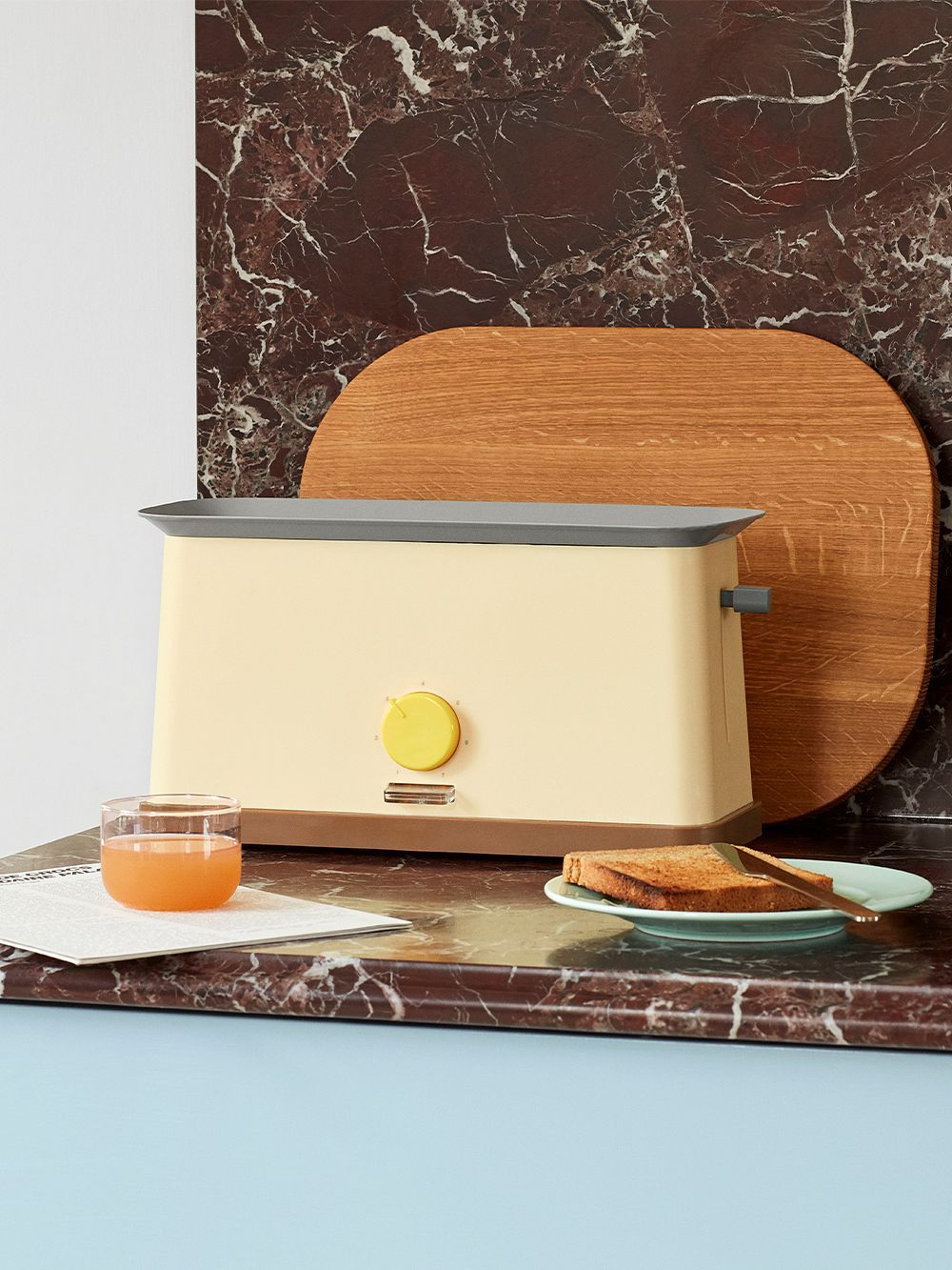 Hay Sowden toaster, yellow