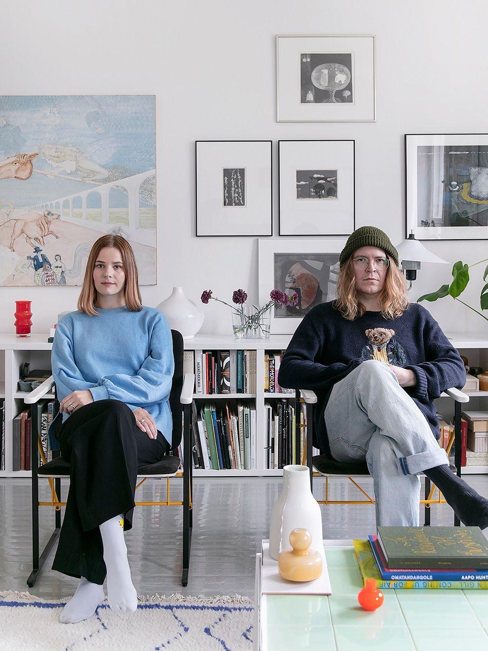 Laura Kuusajoki and Jonne Heinonen