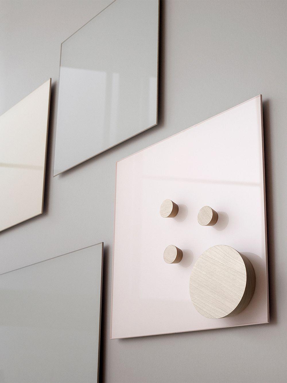 Lintex Mood Wall glassboard, 30 x 30 cm, pure