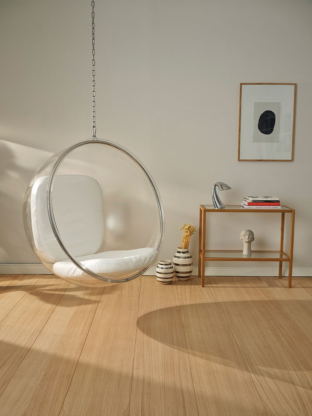 Eero Aarnio Originals  Bubble Chair, white