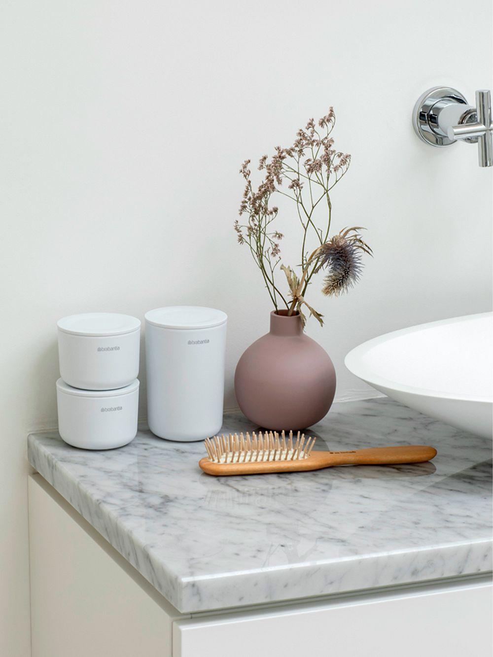 Brabantia ReNew storage pots, white