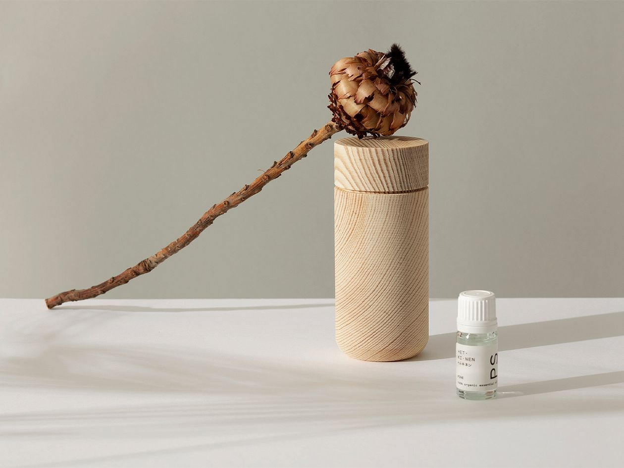 Hetkinen Drop diffuser, tall, pine wood