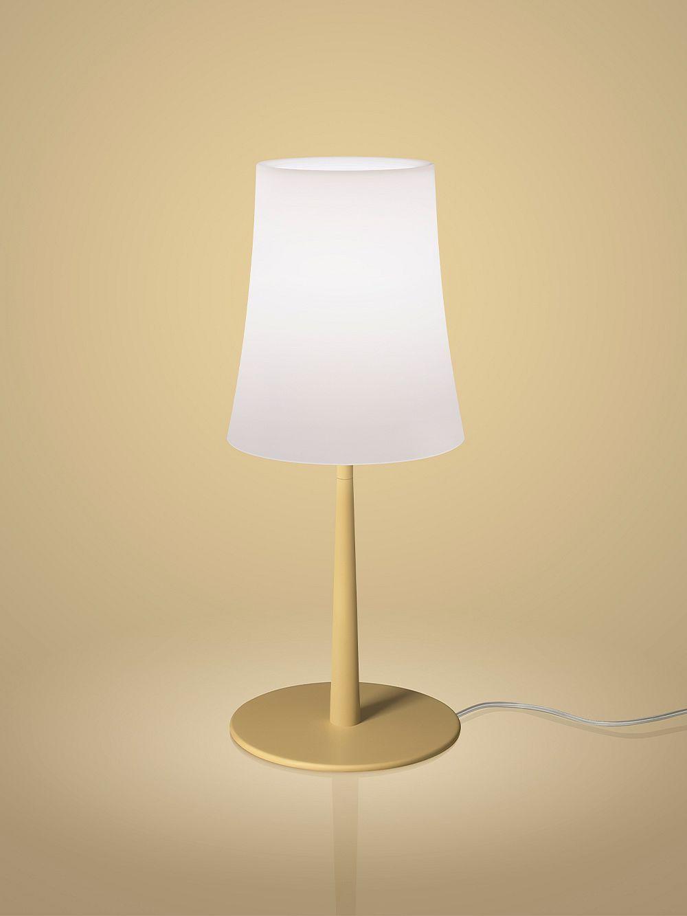 Foscarini Birdie Easy table lamp, sand yellow