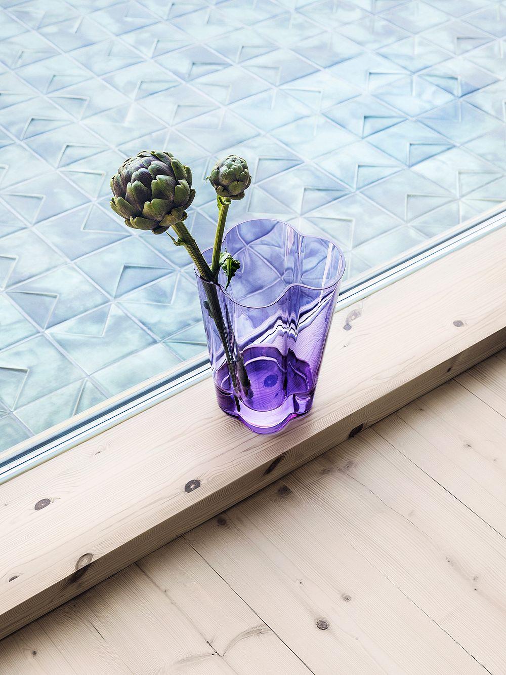 Iittala Aalto vase 270 mm, amethyst