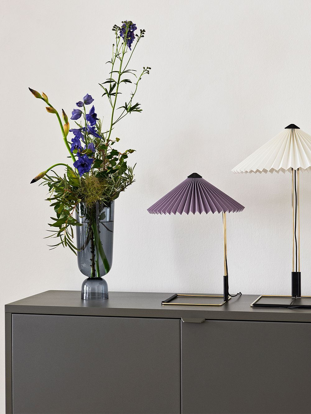 Hay Matin table lamp, small, lavender