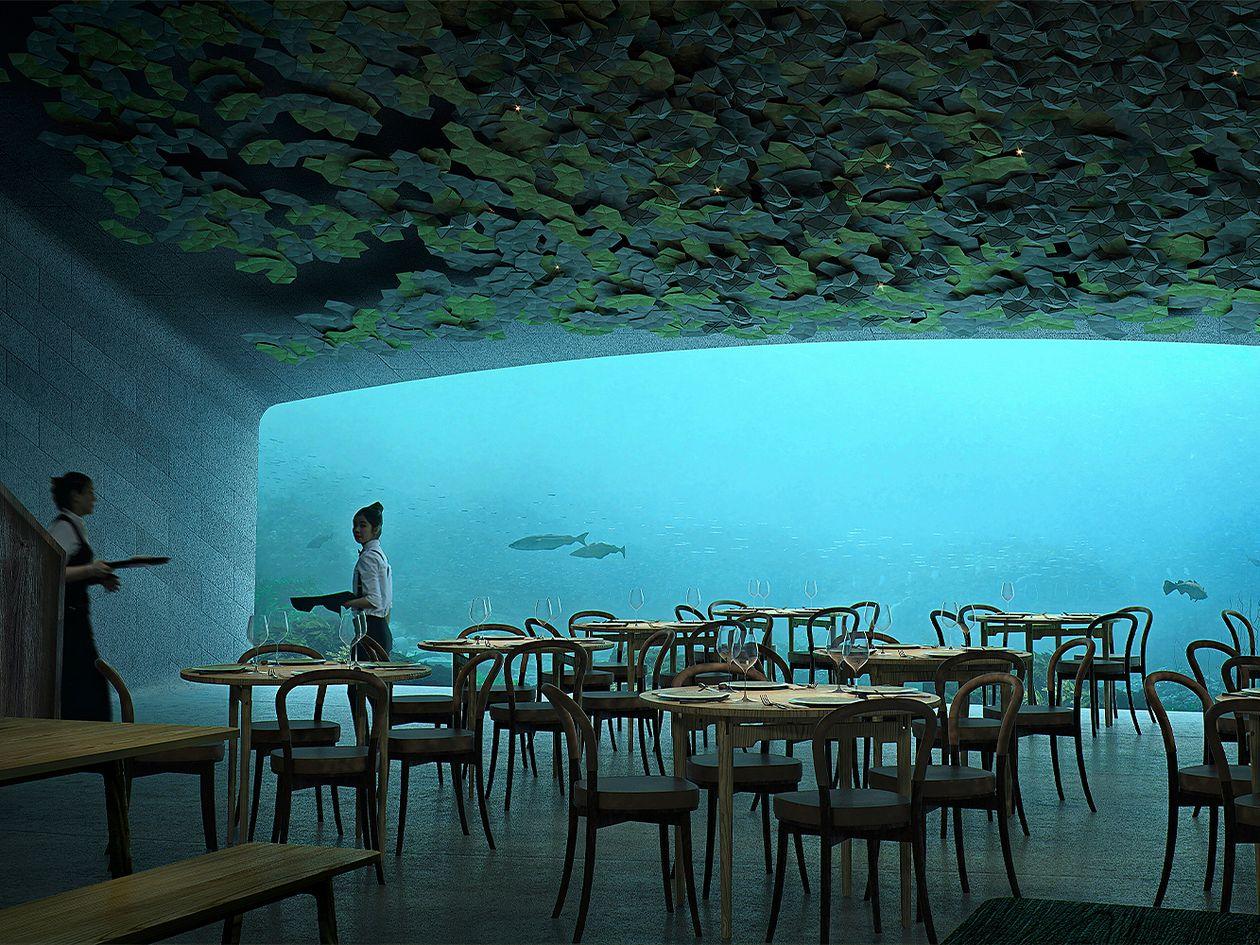 Restaurant Under, Lindesnes