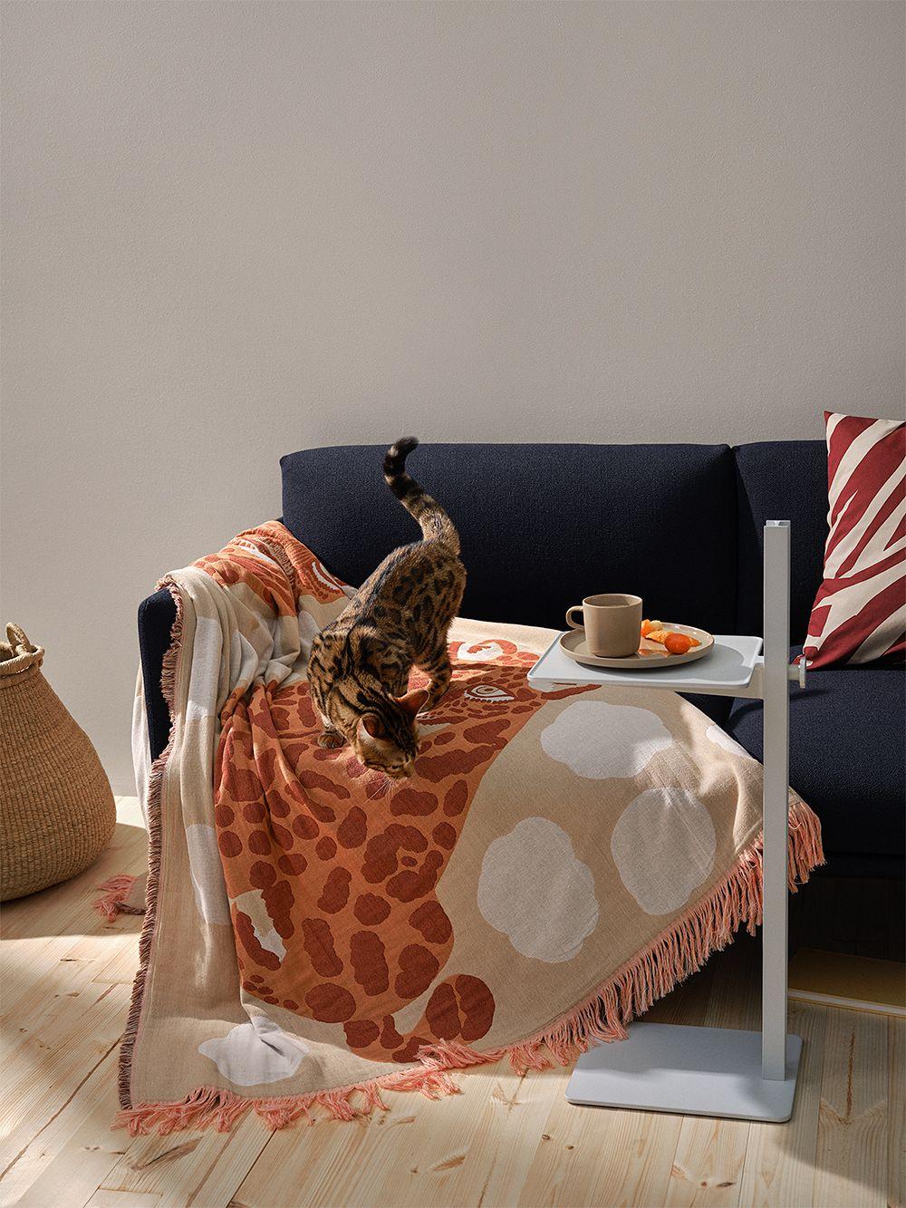 Marimekko Kaksoset blanket, 130 x 180 cm, beige