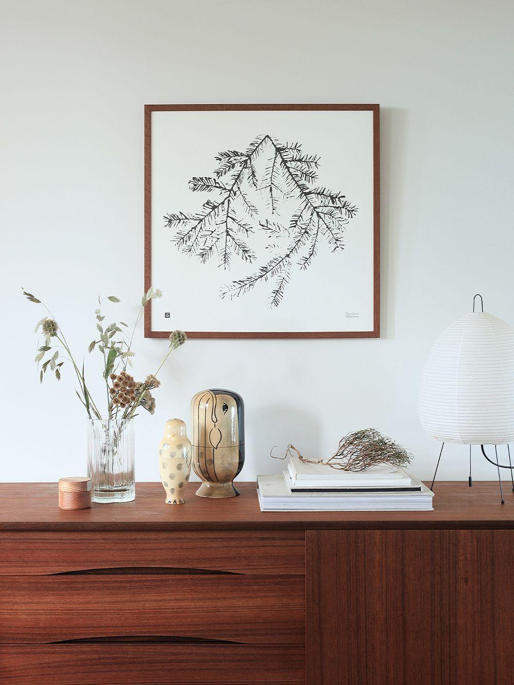 Teemu Järvi Illustrations Spruce Branch poster