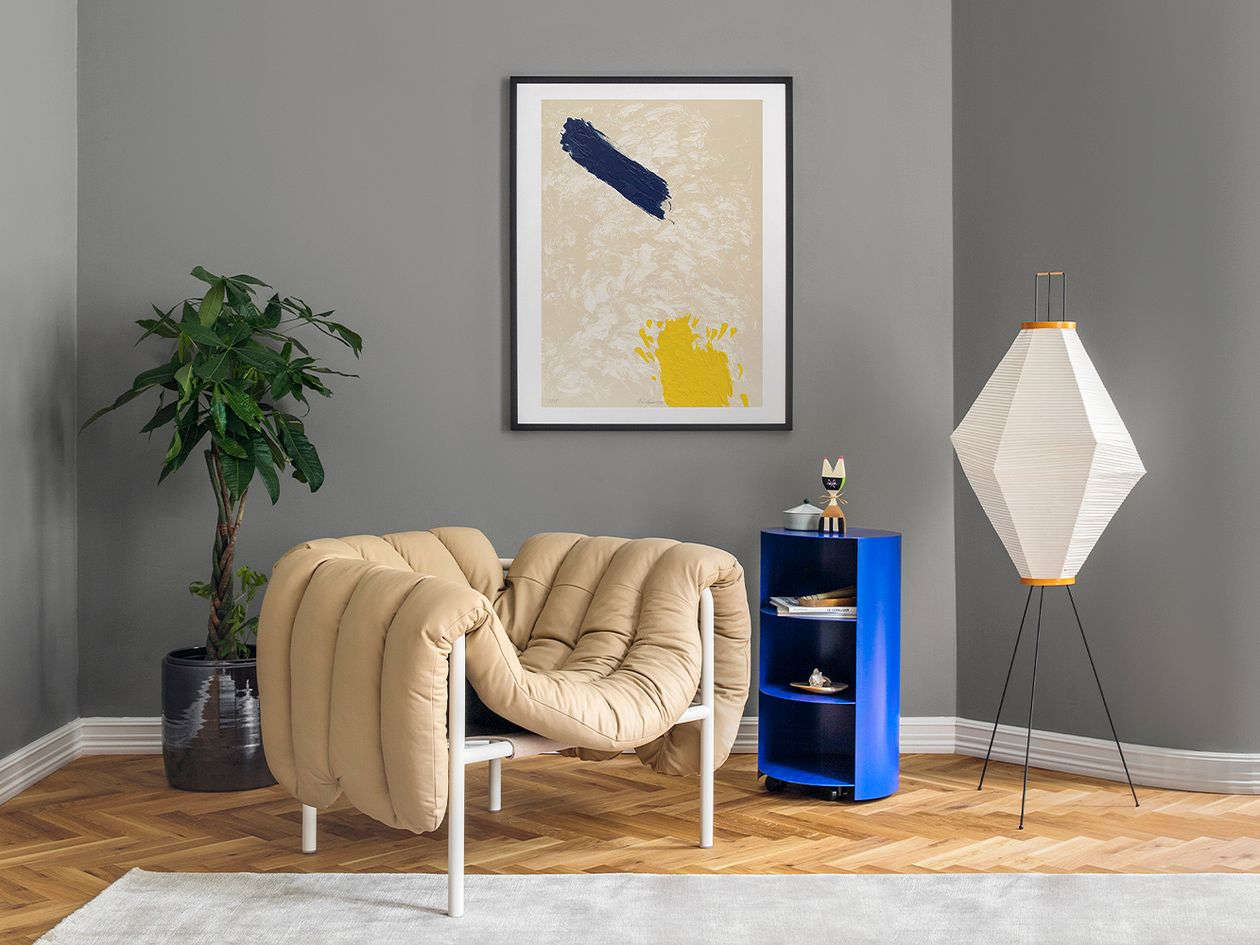 Hem Puffy lounge chair