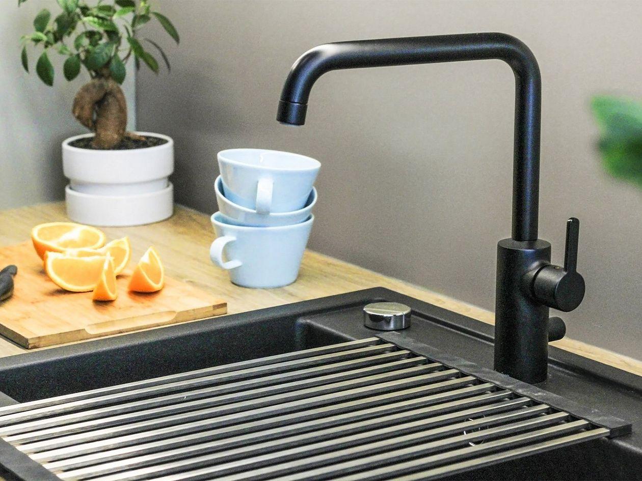 Magisso Happy Sinks dish drying rack, steel