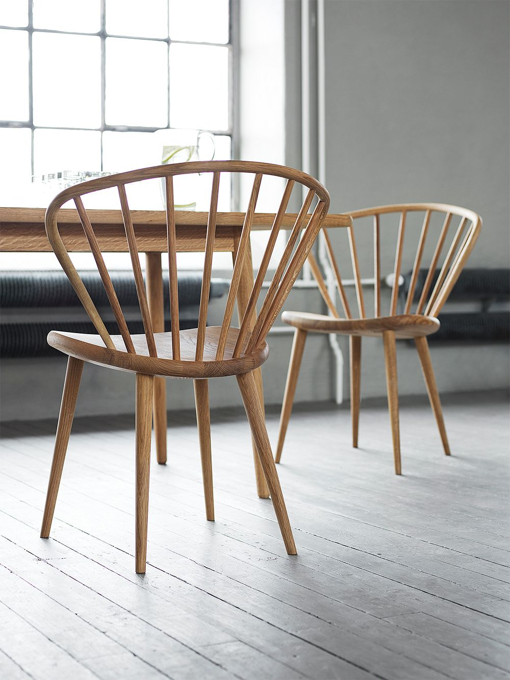 Stolab Miss Holly chair, oiled oak