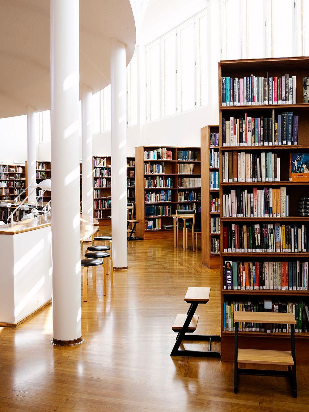 Seinäjoki library by Alvar Aalto