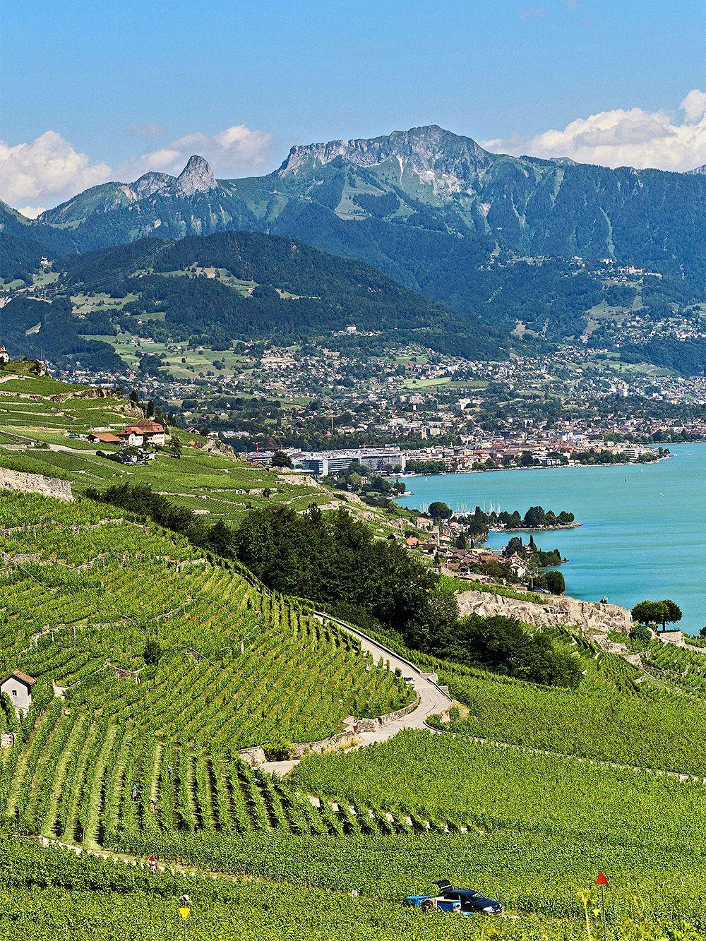 Biking trips in spectacular places: Lake Geneva, Switzerland and France