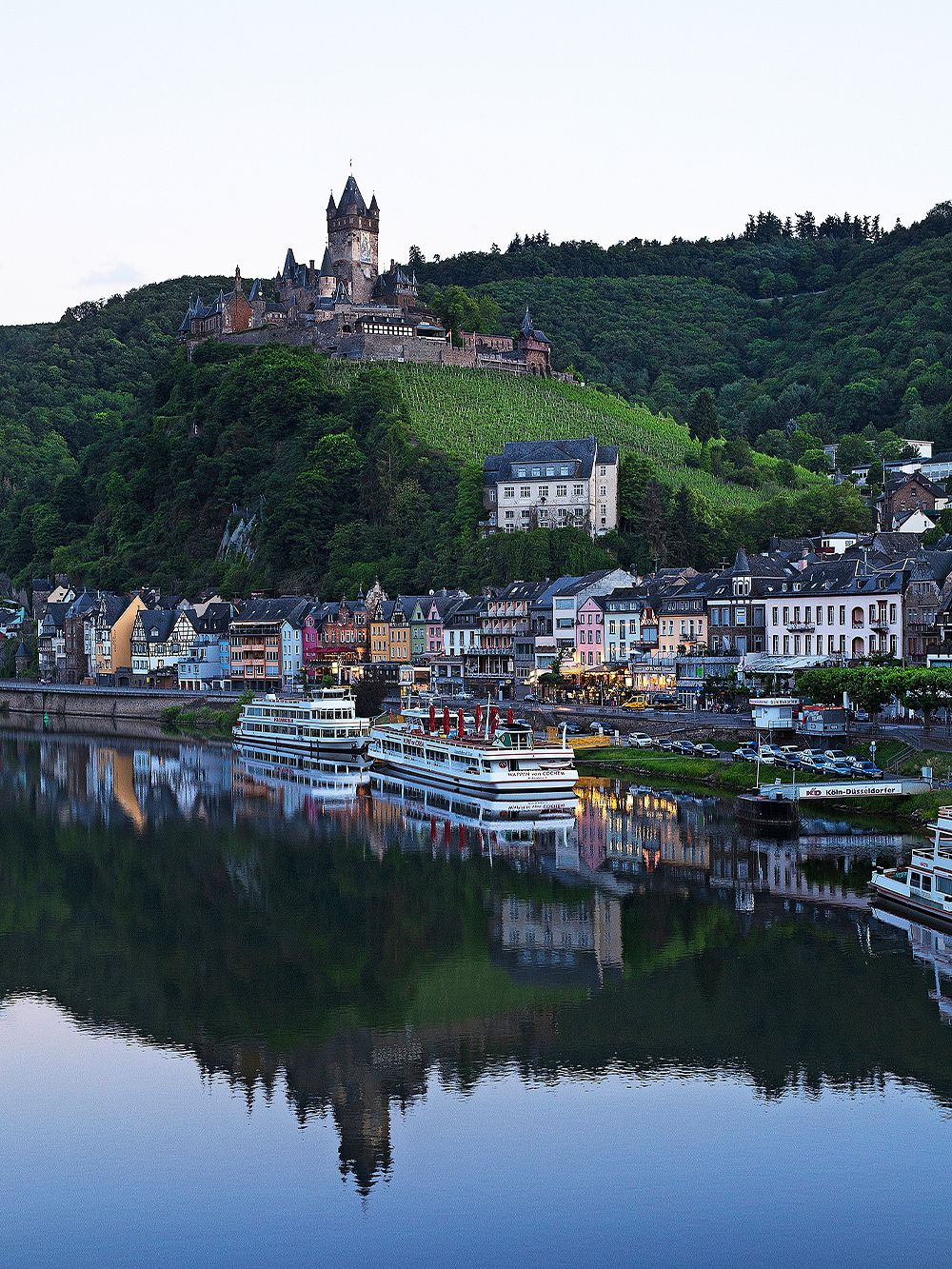 Biking trips in spectacular places: The Mosel river, Germany