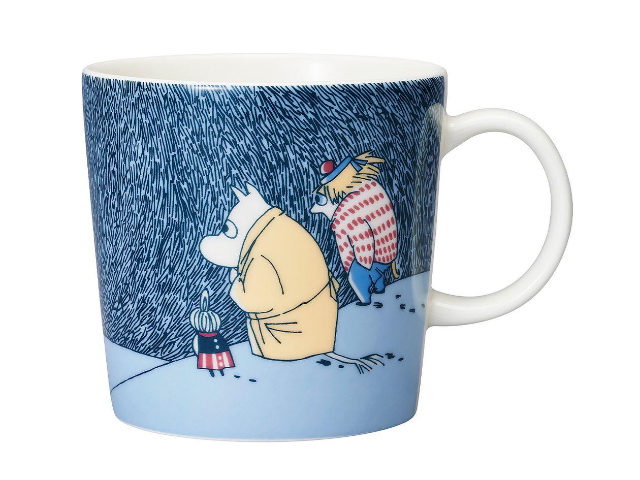 Arabia Moomin mug Snow Moonlight