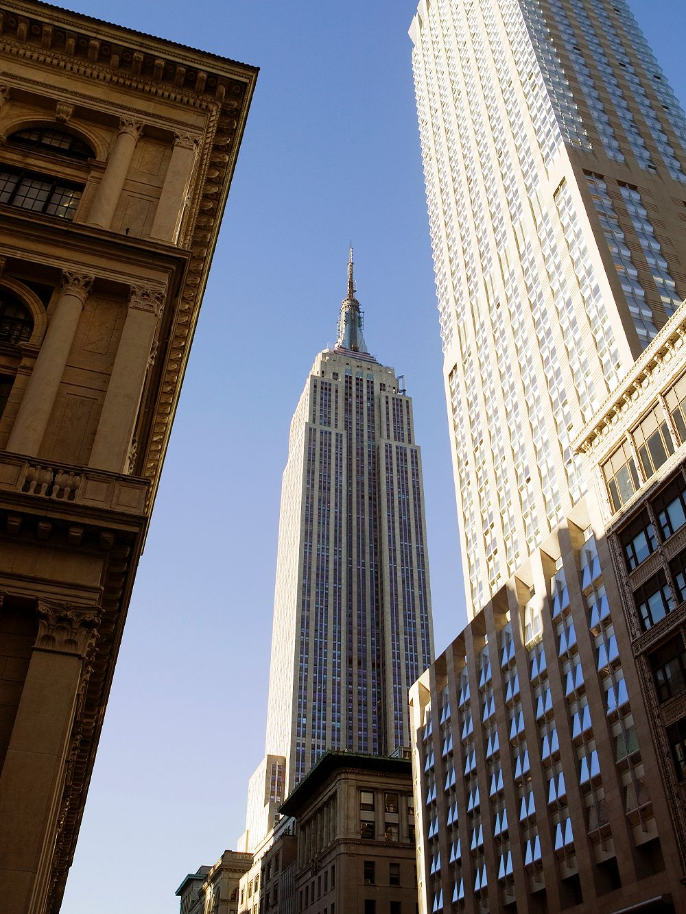 New York on foot: Fifth Avenue, Empire State Building