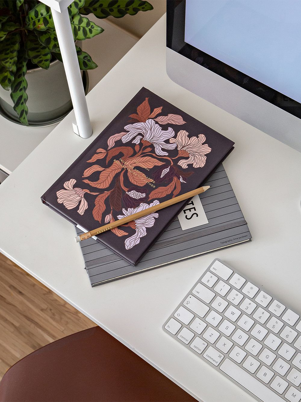 Cozy Publishing Cozy Flower notebook, peach blossom