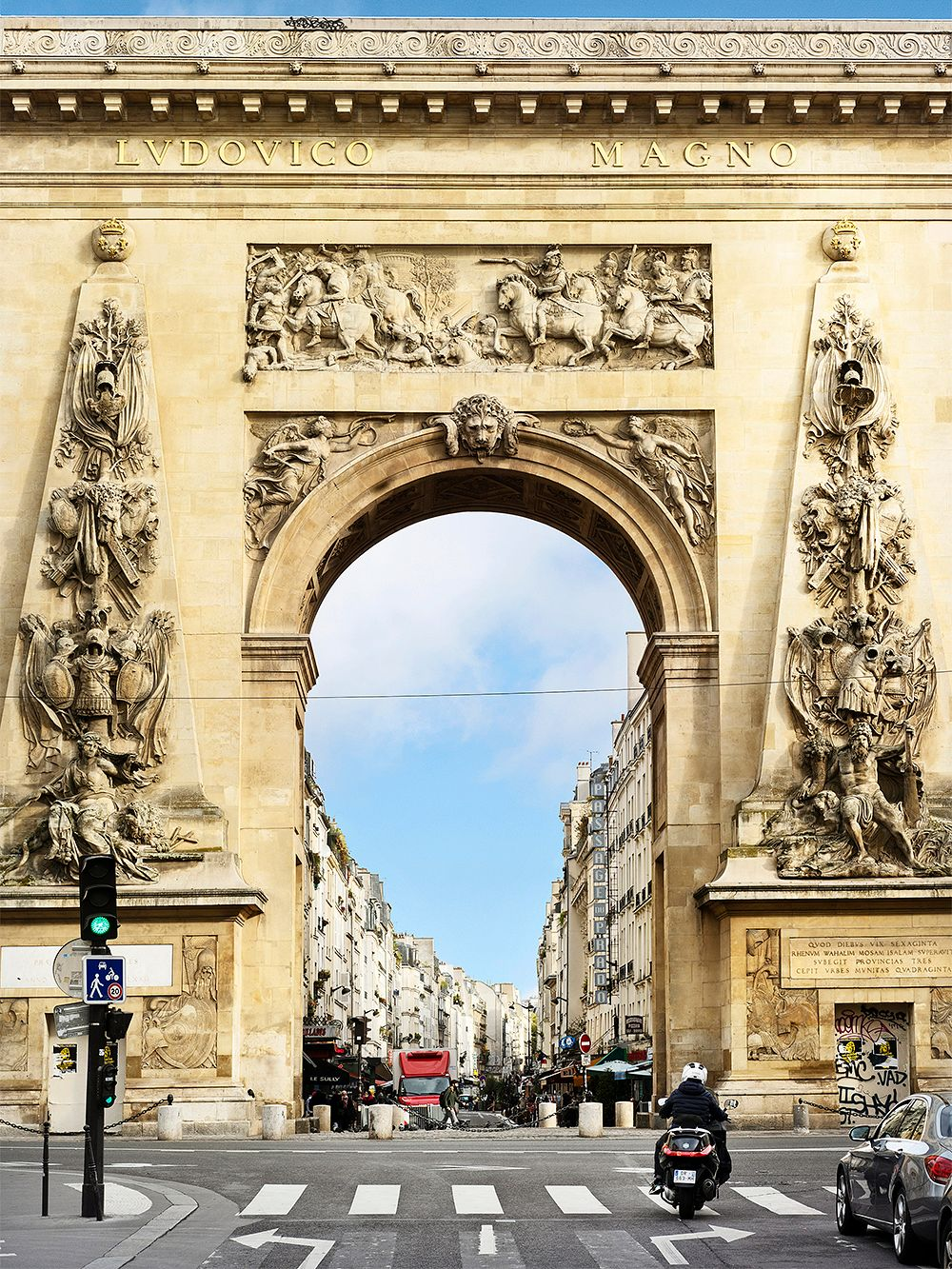 Porte Saint-Denis, Paris