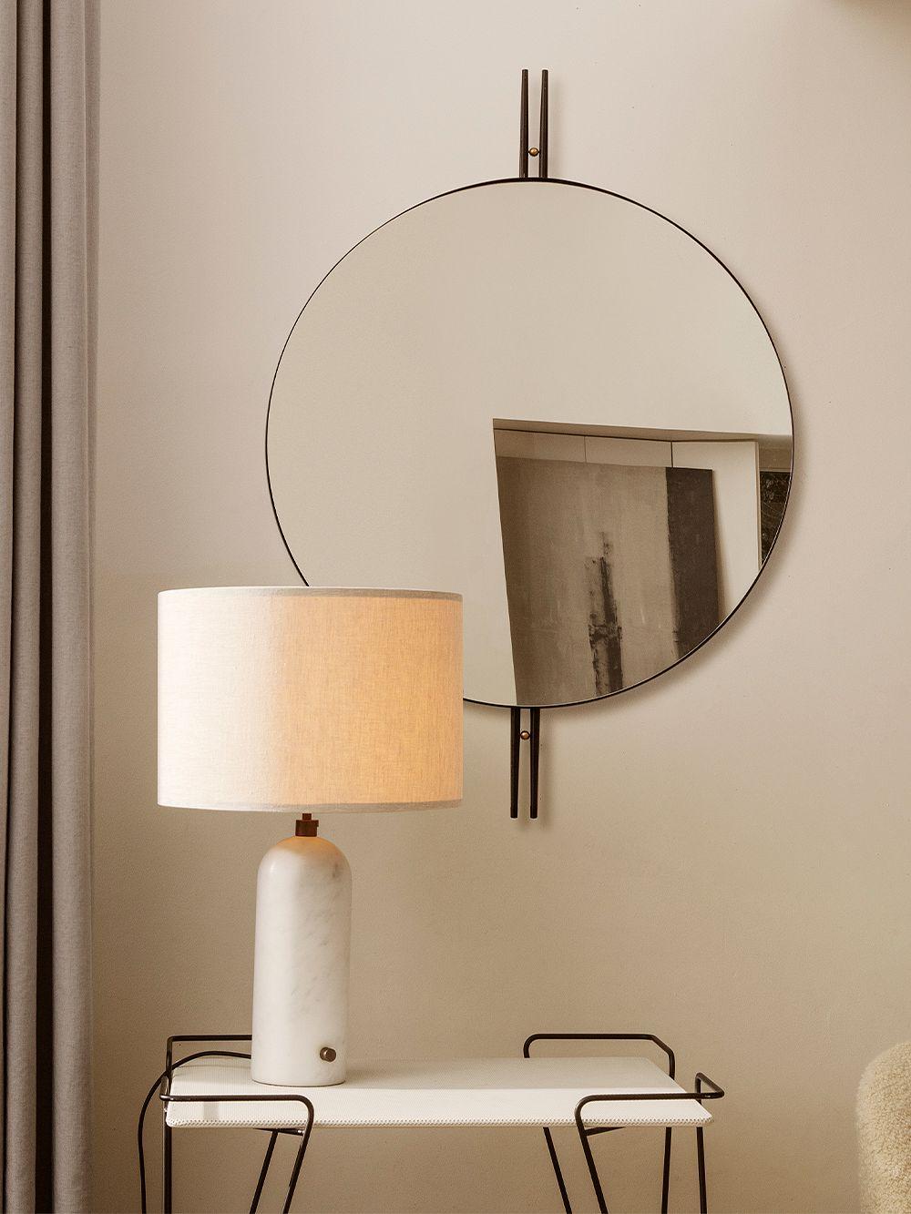 Gubi IOI wall mirror, 80 cm