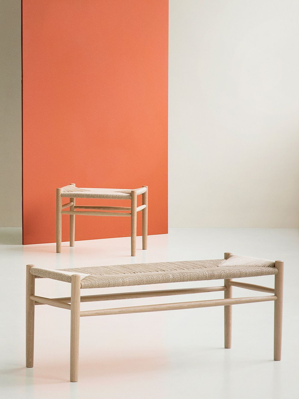FDB Møbler J83B bench, oak