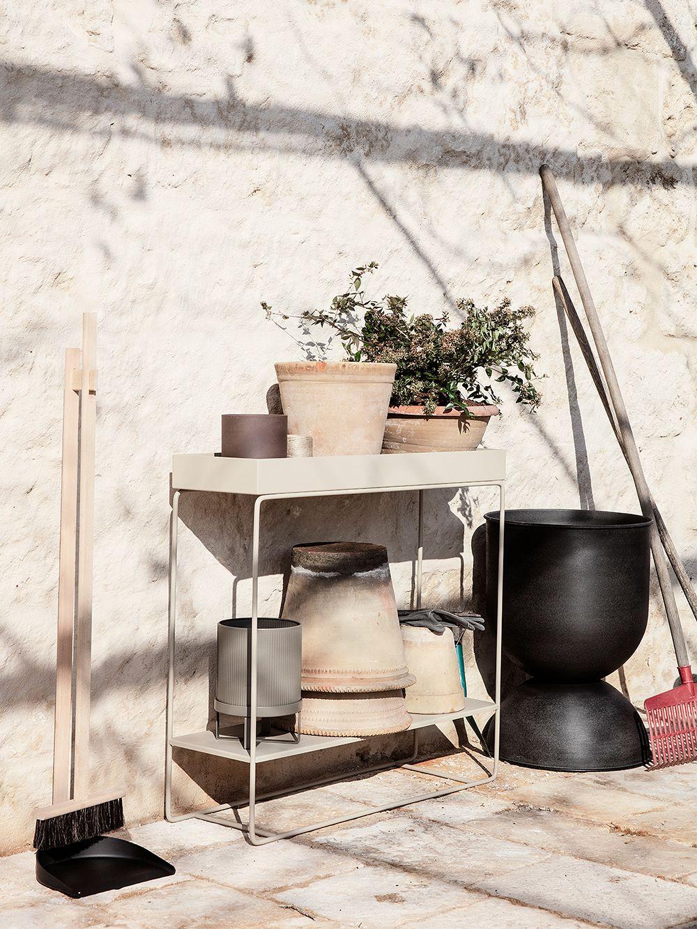 Ferm Living Plant Box, two-tier, cashmere