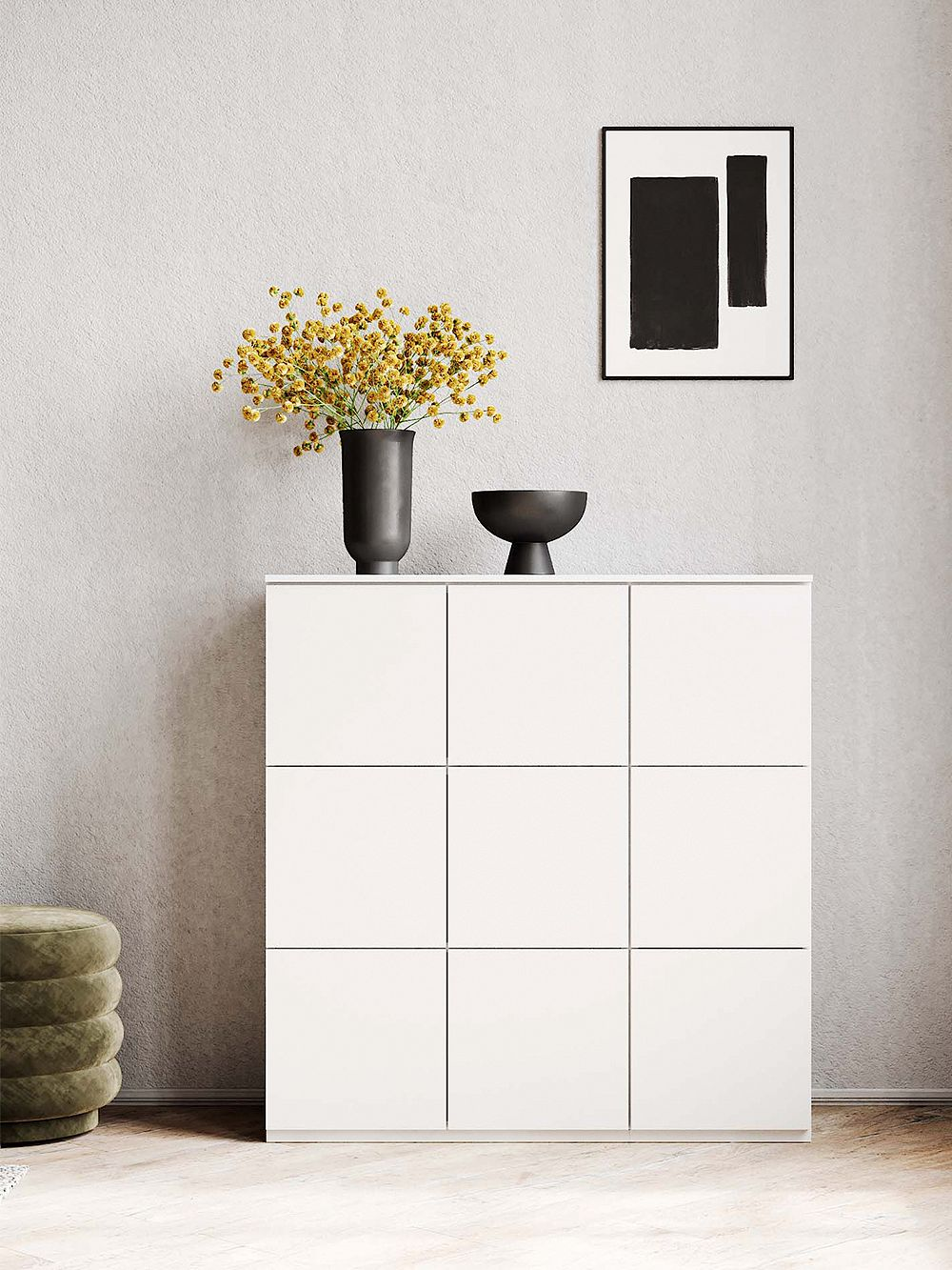 Lundia Fuuga cabinet, white