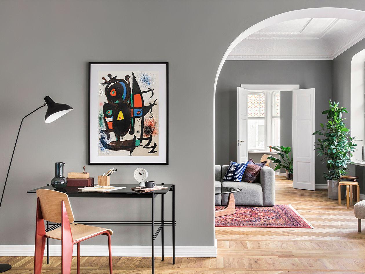 Musee d'art moderne de Paris (Cat-840) by Joan Miró