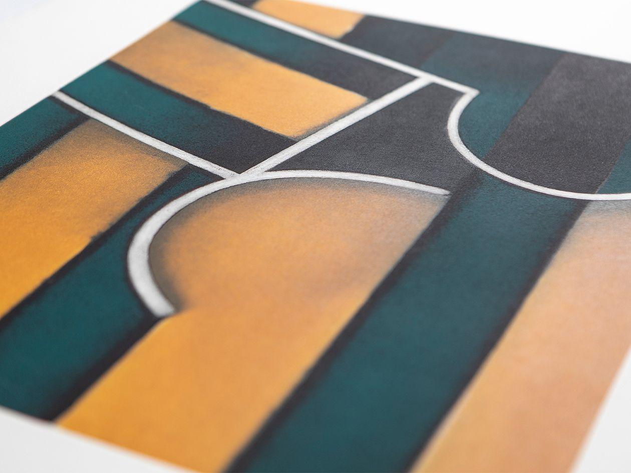 Fine art print Perry Oliver Cintas y sombras cruzadas