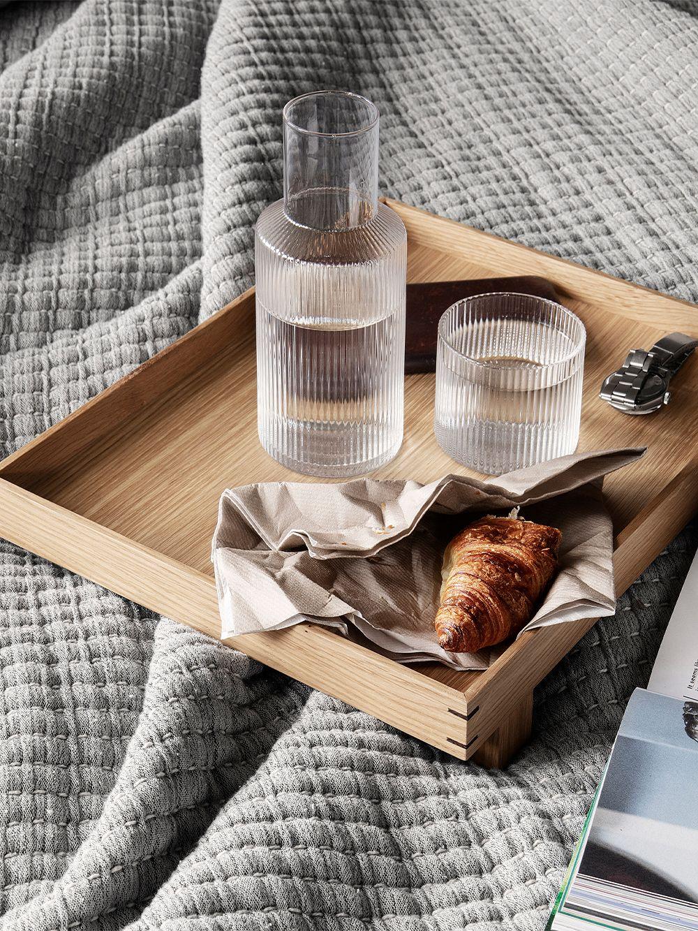 Ferm Living: Ripple glassware