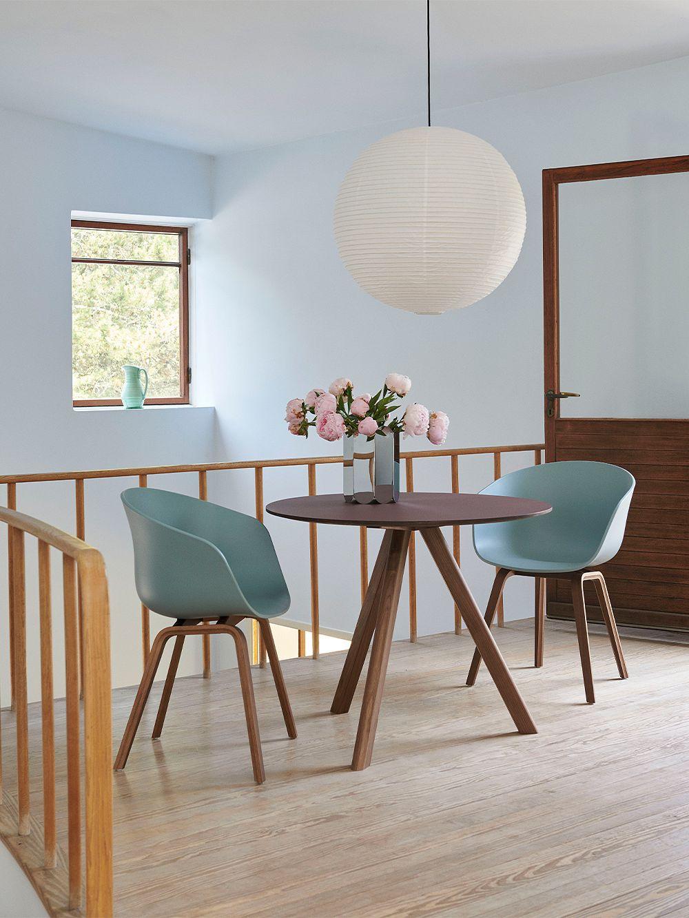 HAY AAC22 chair in walnut