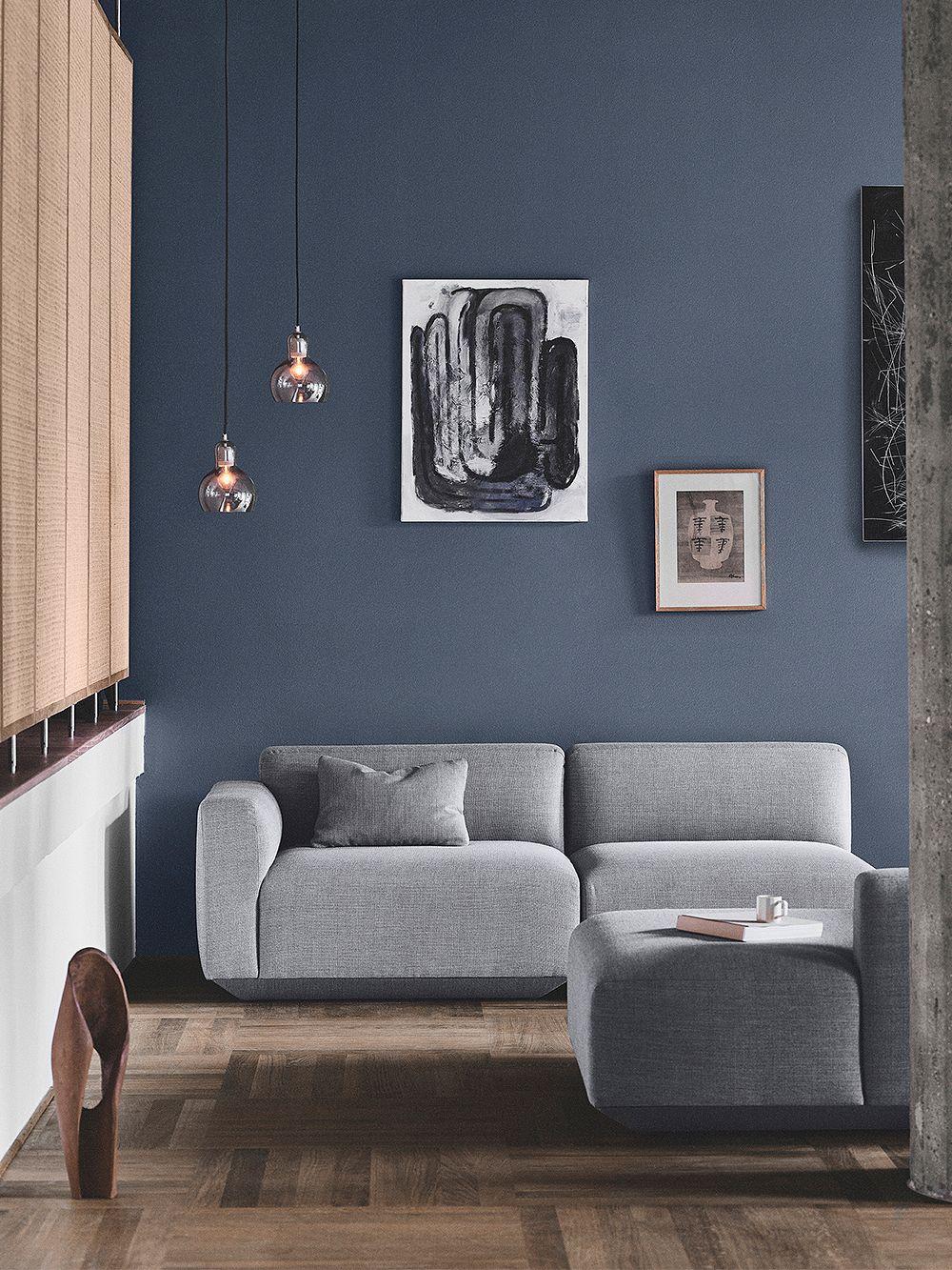 &Tradition Develius sofa grey
