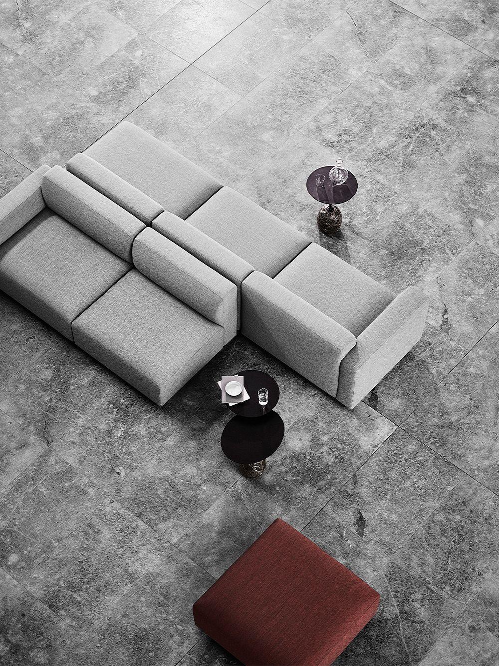 &Tradition Develius sofa and Lato coffee table